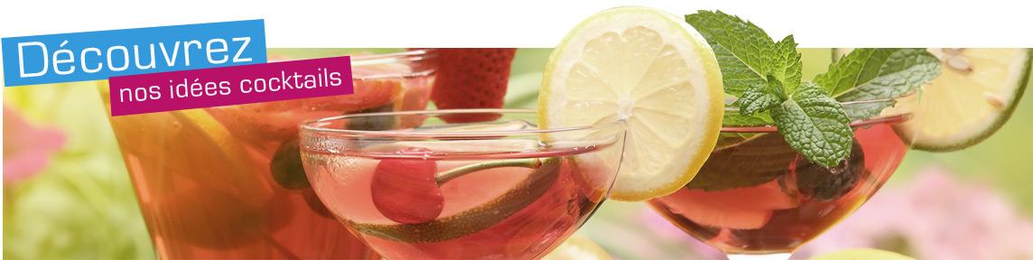 Découvrez nos idées cocktails